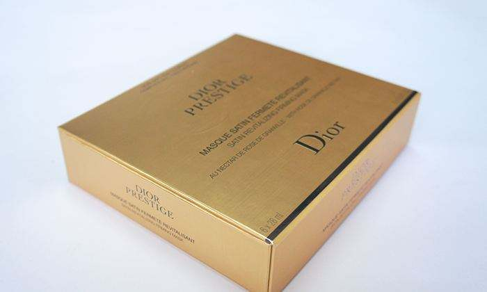 迪奥化妆品包装盒印刷