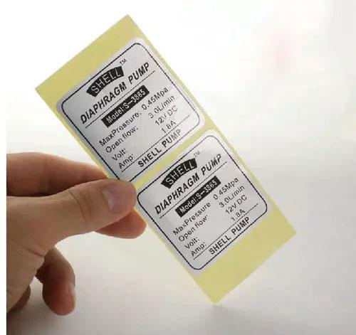 不干胶标签印刷价格