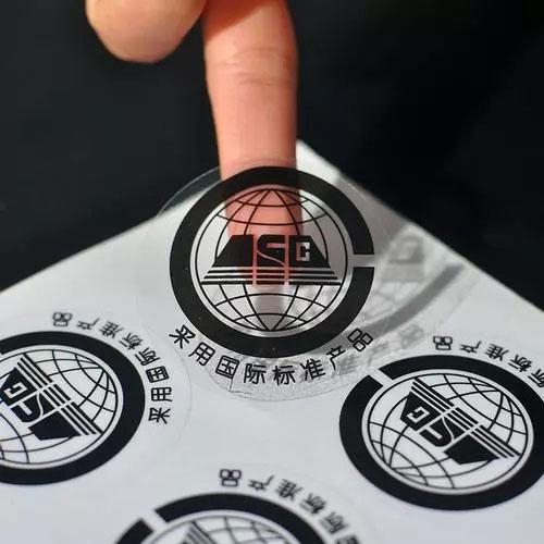透明膜不干胶印刷